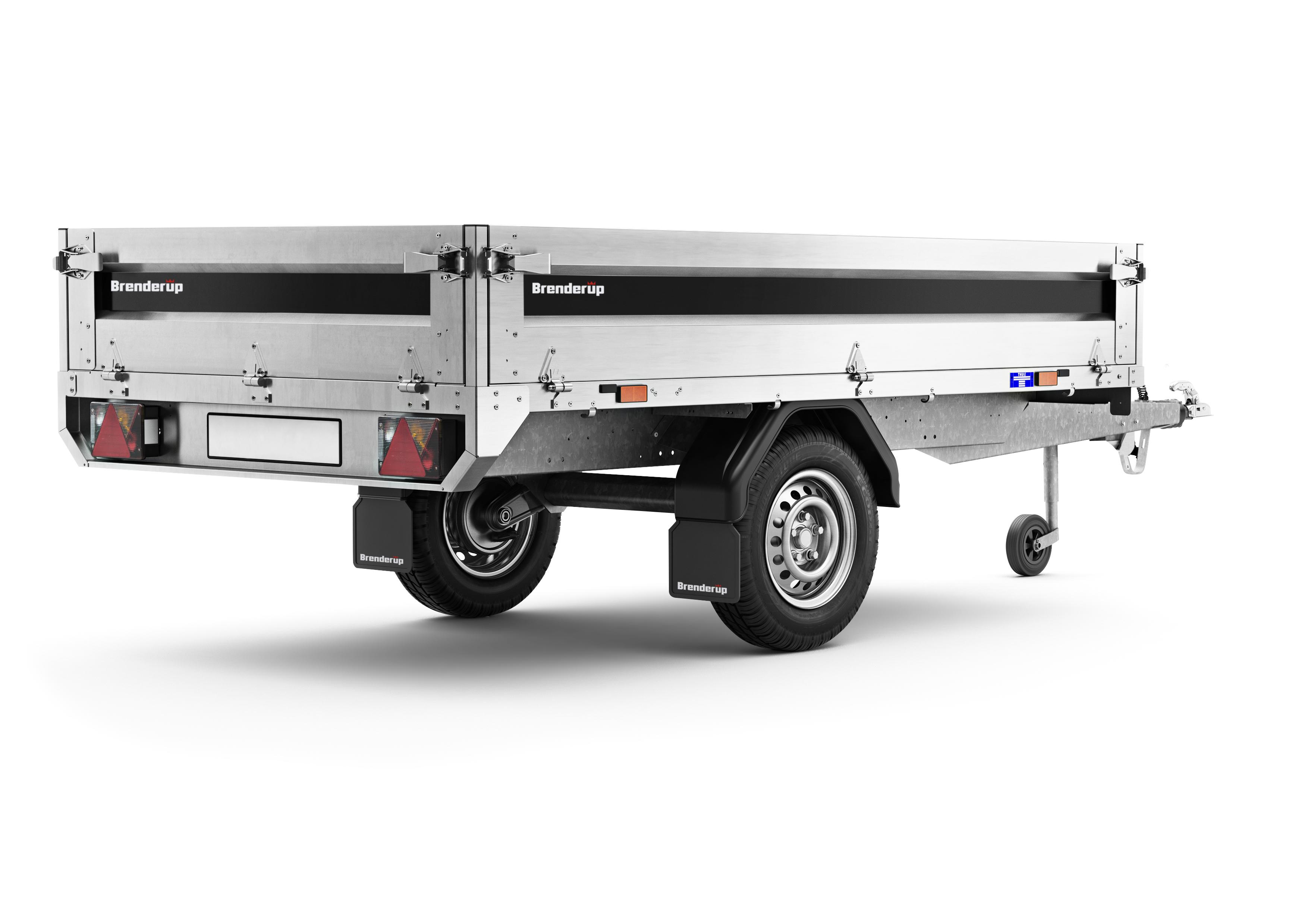 brenderup 4260 sb 1200 kg azo anh nger. Black Bedroom Furniture Sets. Home Design Ideas