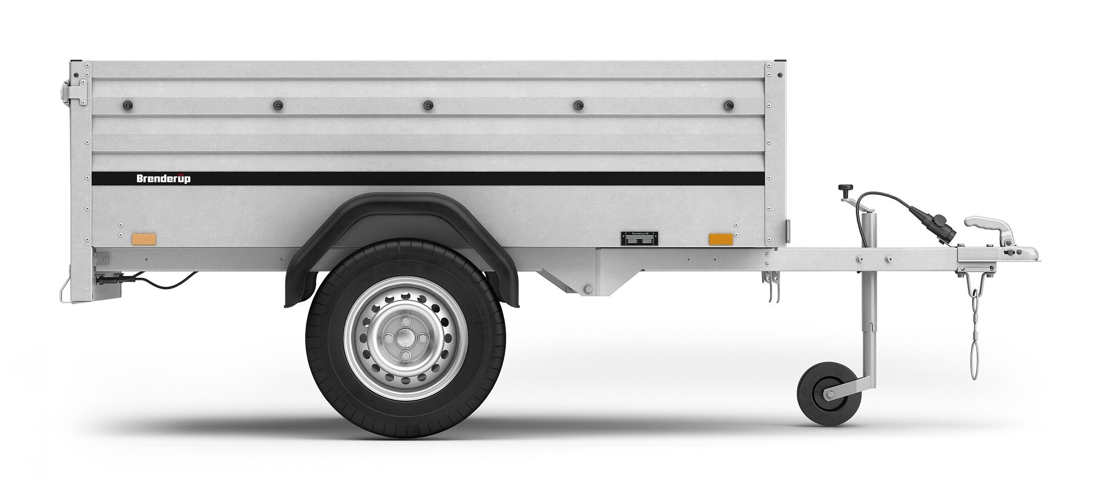 brenderup 1205 sxlub 750 kg ankippbar azo anh nger. Black Bedroom Furniture Sets. Home Design Ideas